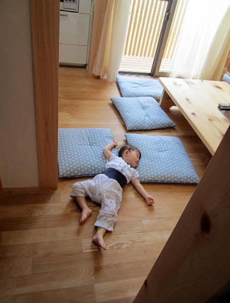 自然素材による健康住宅と赤ちゃん
