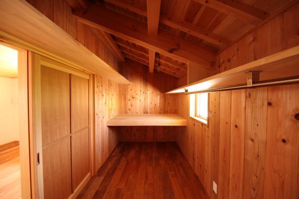 木の家の収納・納戸についての画像です。