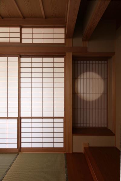 和風の注文住宅の和室