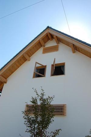 愛知県の小さな家の外観ファサード